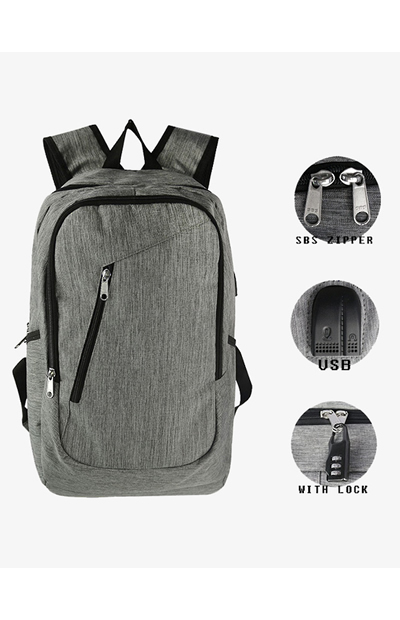 BKBP001 Backpack with USB and Headset Port