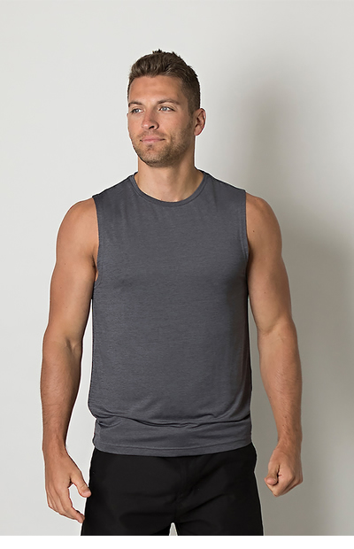 BKTT425 Mens Sleeveless tank top
