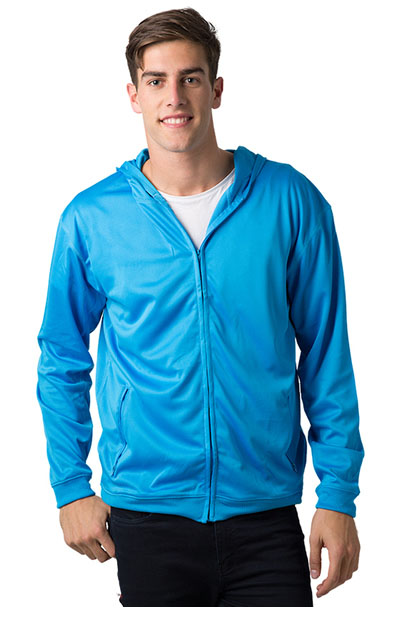 BSHD21  Polyester Cooldry Full Zip Hooded Jacket - Unisex