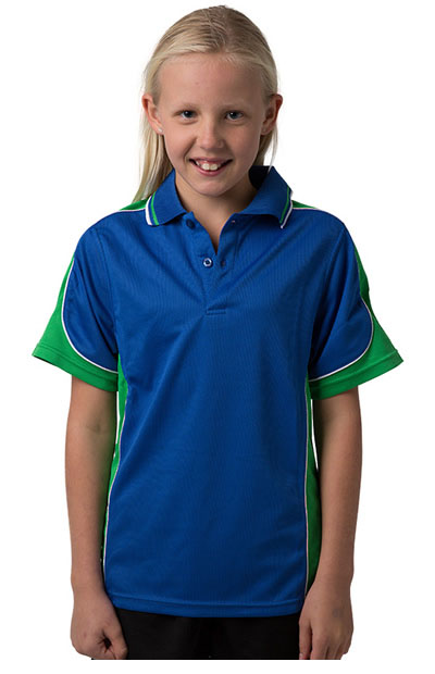 BSP16K Polyester Cooldry Micromesh Polo - Kids