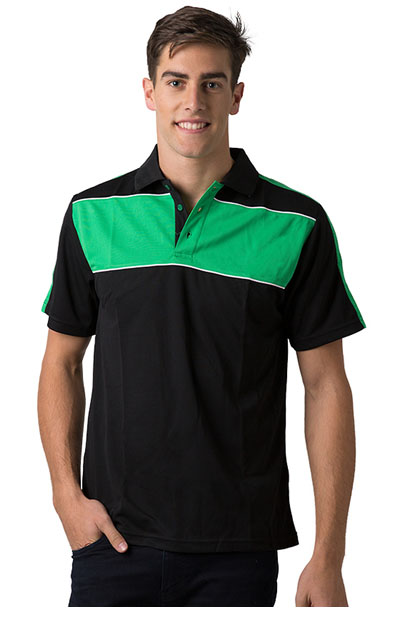 BSP2012 Polyester Cooldry Pique Knit Polo - Men's