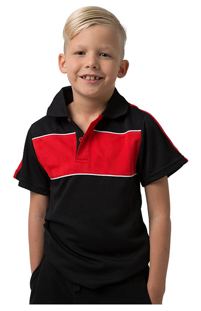 BSP2012K Polyester Cooldry Pique Knit Polo - Kids