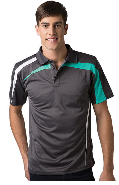BSP2014 Adults Micromesh Polo Shirt - Men's