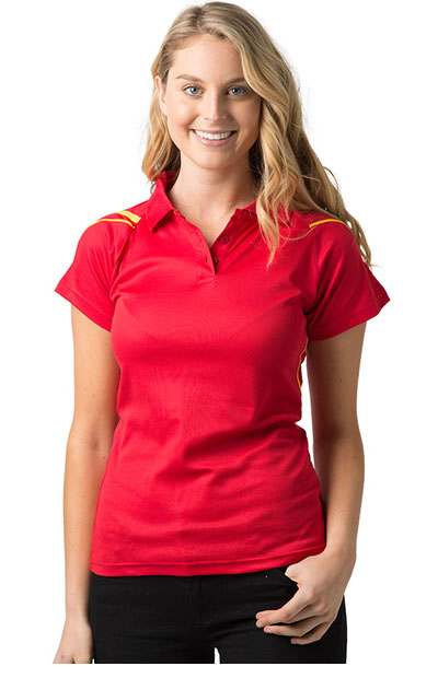 THE COUGAR 50% Cooldry Polyester face/50% Combed Cotton Backing - Ladies