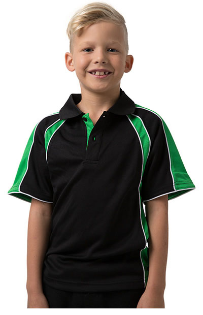 THE ROZELLA Polyester Cooldry Micromesh Moisture Management Polo - Kids